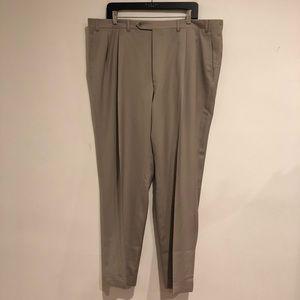 Canali Walnut Tan Men's Dress Pants trouser 40
